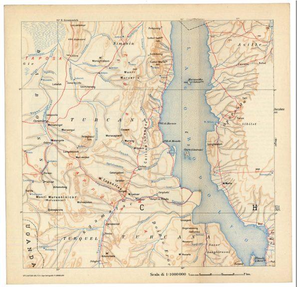 Map Lake Turkana Tours Kenya Kara Tunga
