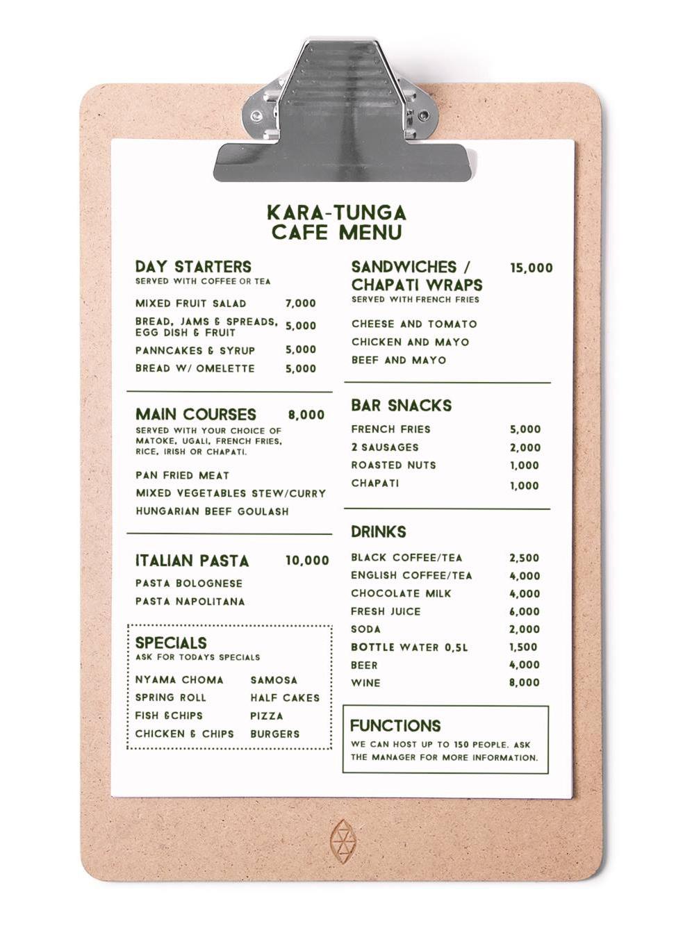 Kara-tunga-guetshouse-cafe-moroto-uganda-menu