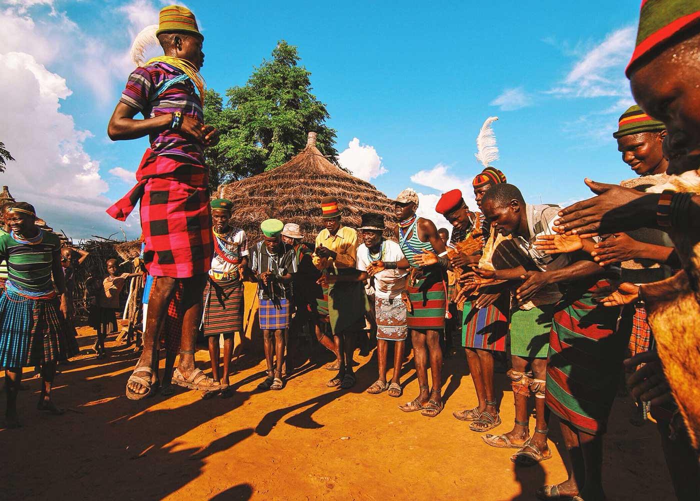 Karamoja Cultural Tour Dance Edonga Village Manyatta