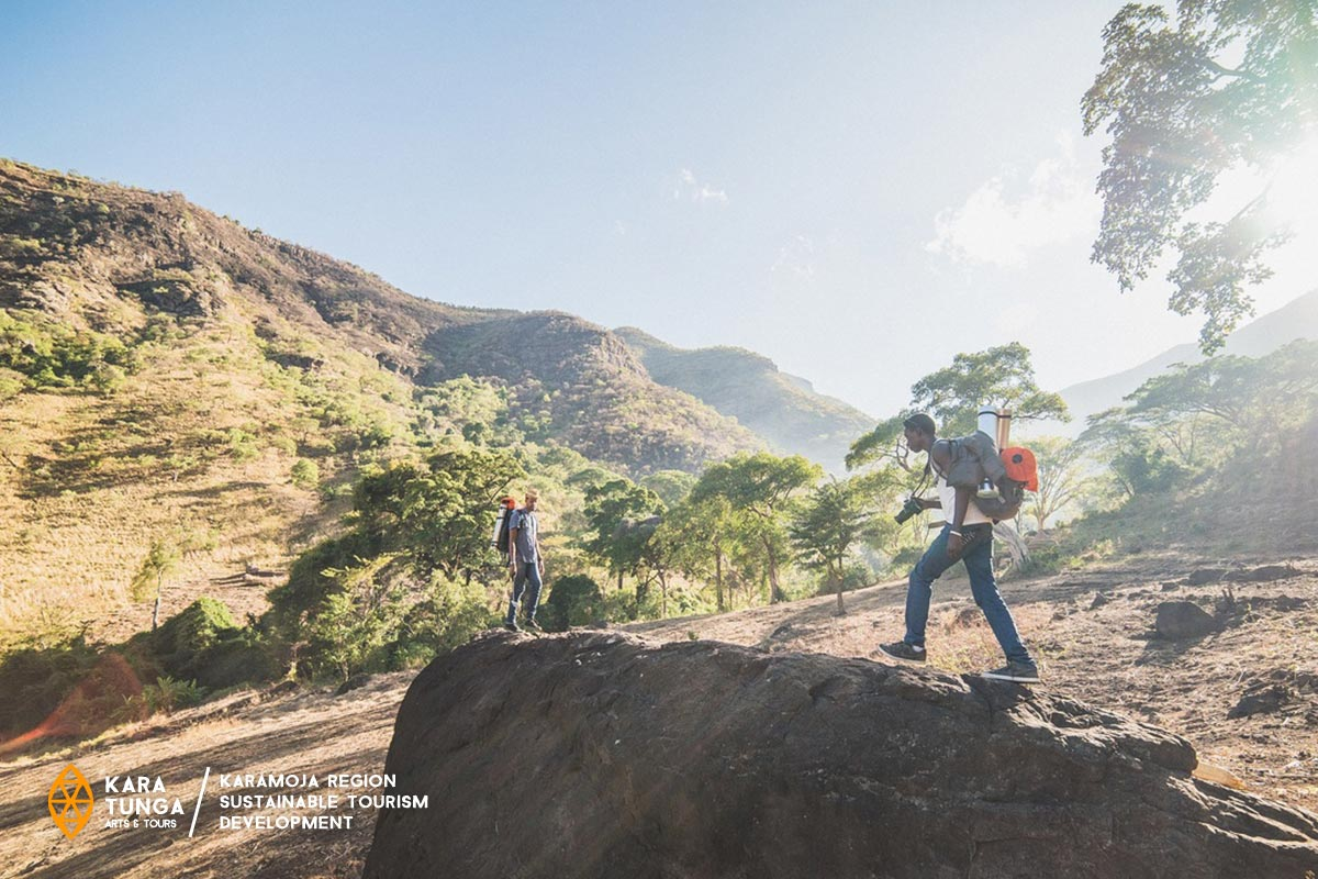Hiking Mount Moroto Karamoja Uganda