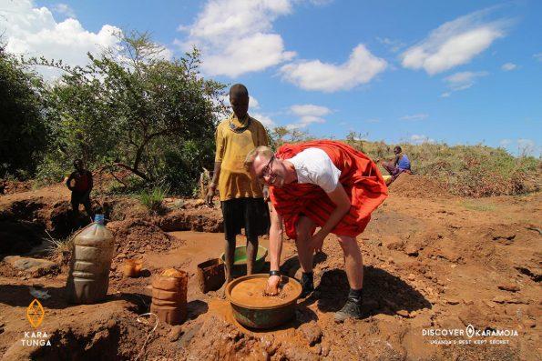 Karamoja Gold Mining Tour