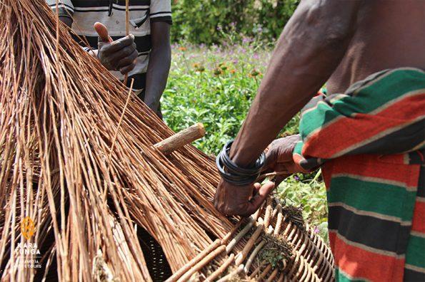 Karamoja Food BAsket Weaving Workshop