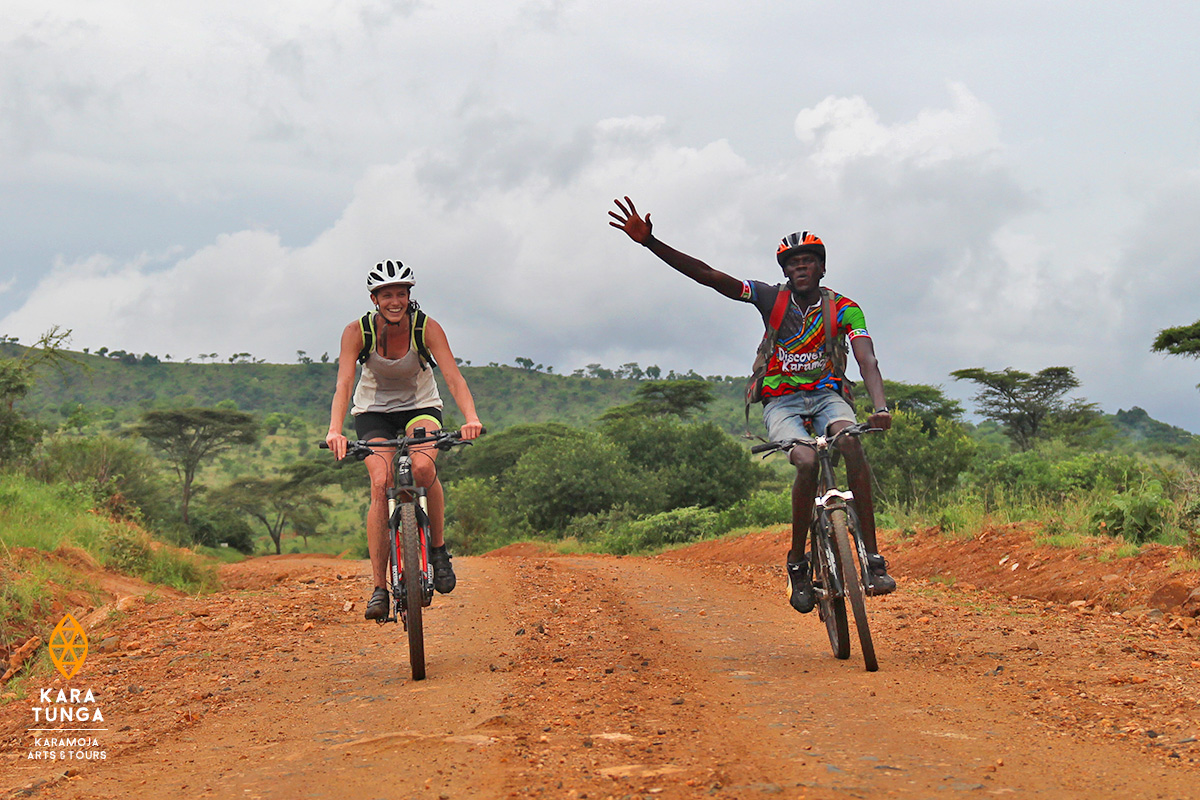 Kara Tunga Karamoja Bicycle Tours Travel Safari Moroto Mountain Bike 4