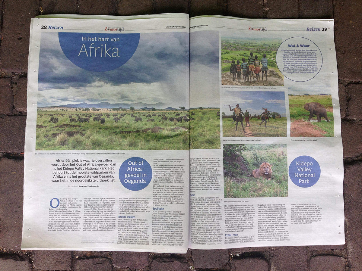 Karamoja en Kidepo Valley Reisverslag Oeganda