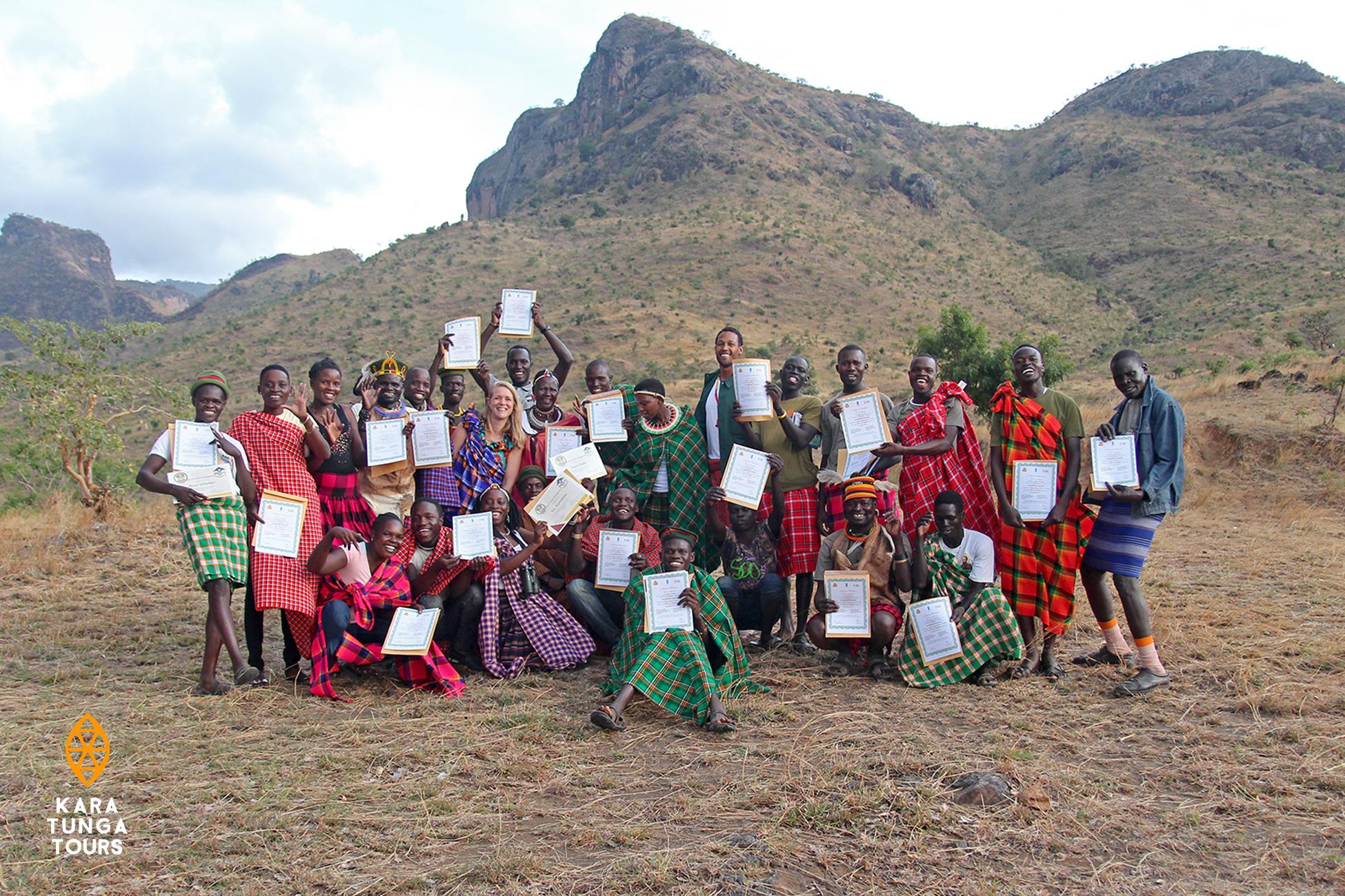 Kara-Tunga-Karamoja-Tours-Travel-Safari-Guides-Gradutation-USAGA