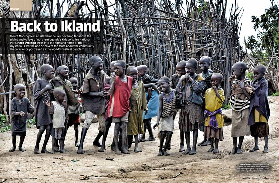 The origin of Uganda's Ik-tribe is one of Africa's unsolved