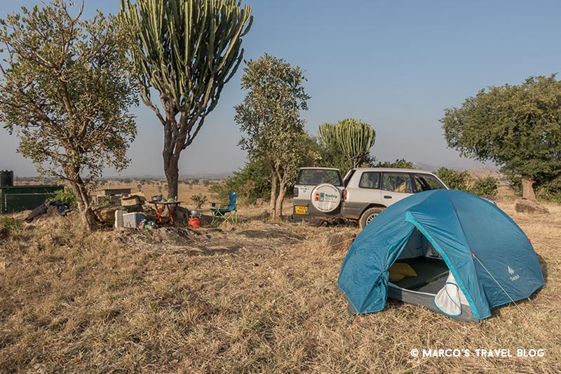 kidepo-valley-camp-site