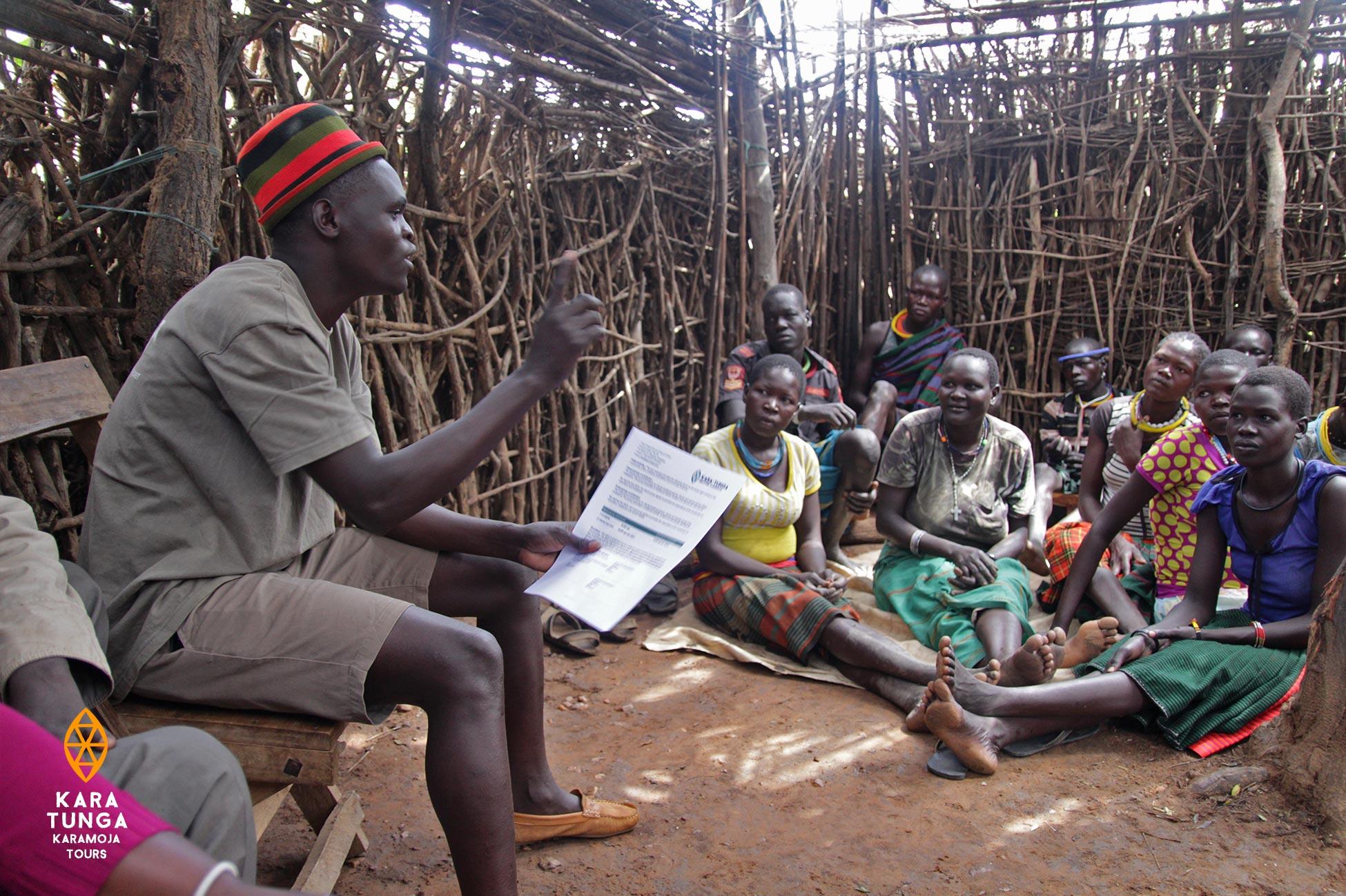 Kara-Tunga Karamoja Community Village Tours