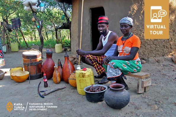 Life in traditional Pokot village