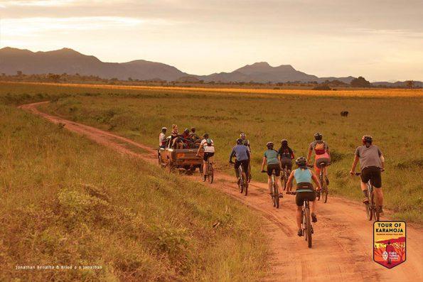 bicycle safari ugandas kidepo valley national park