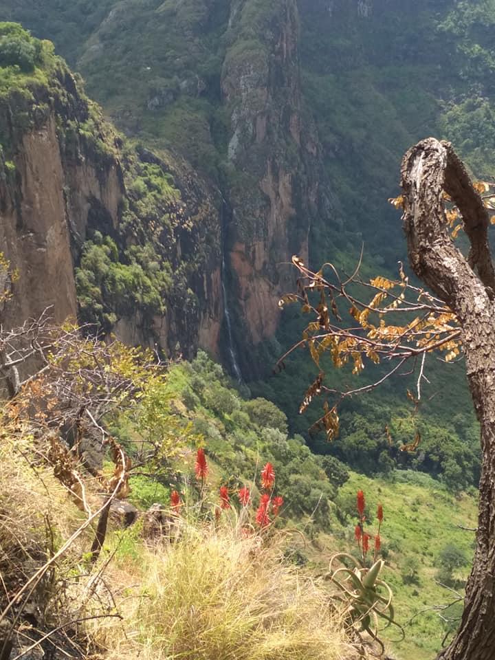 Mount Moroto Waterfall St Laurence