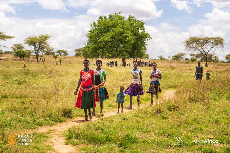 Kara-Tunga Karamoja Northeastern Uganda Tours Travel Safari Cultural Village Visit
