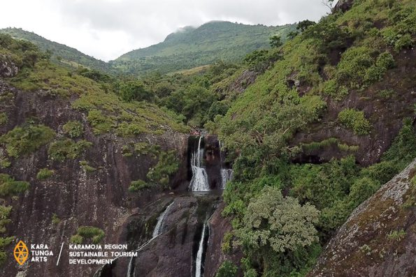 Mount Moroto Waterfall and Spring Pool Hike