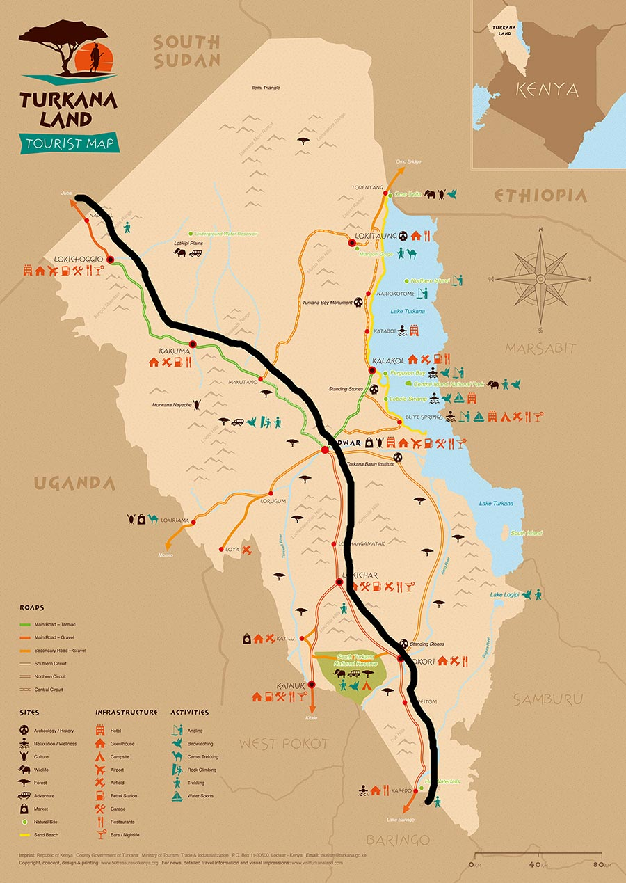 Turkana-Tourist-Travel-Map